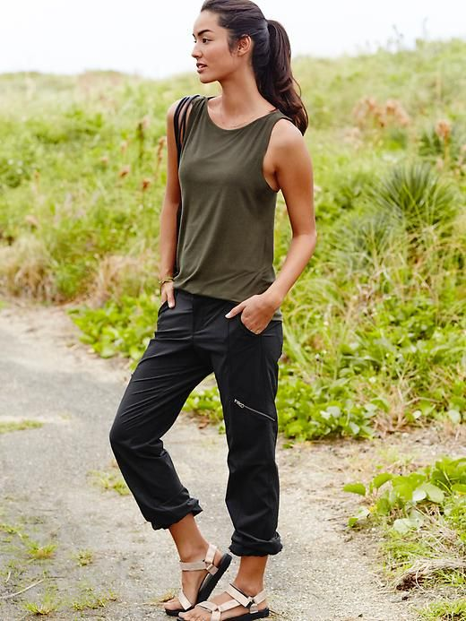 Athleta Palisade Pant, thinking about something like this if in a capri style.