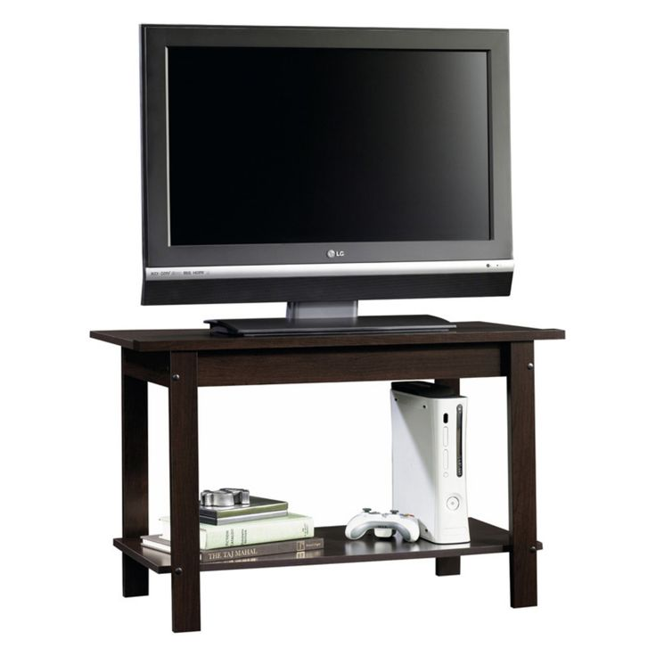Sauder Beginnings TV Stand - Cinnamon Cherry - 413022
