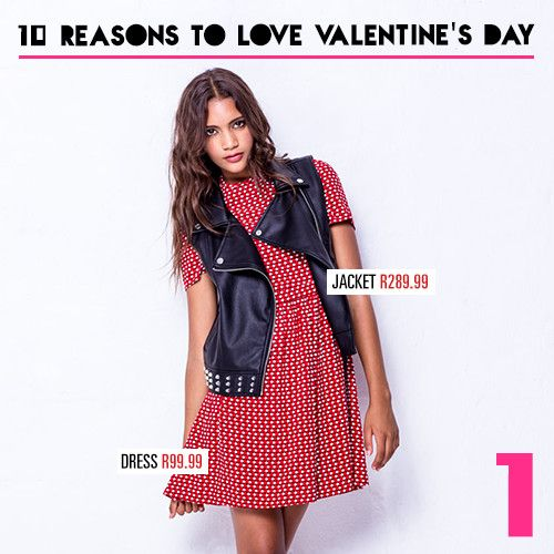 Reason 1: A dress to impress! Shop our hot dresses in-store and online now at www.mrp.com