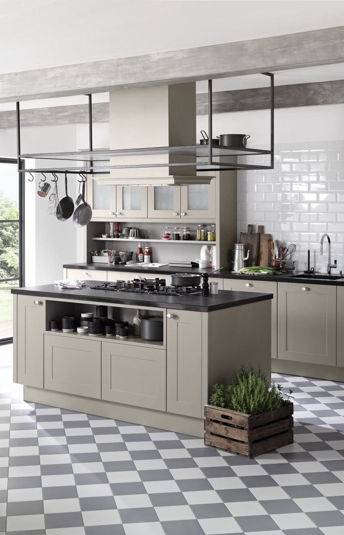 Nolte Kitchens Frame Lack, Available In Warm And Cool Colours.  #candckitchens #interiors