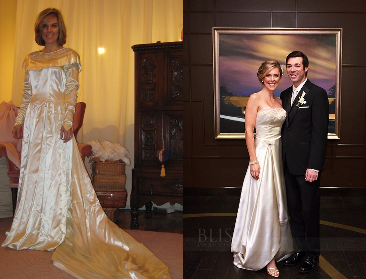 80 Best Old Bridal Gowns Redone Images On Pinterest
