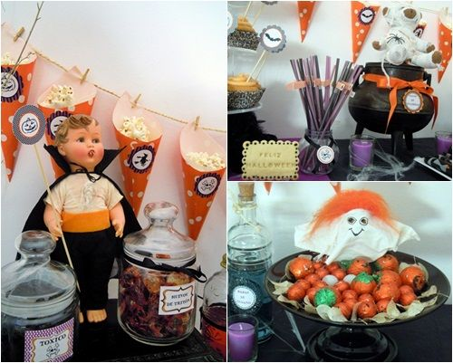 fiesta halloween casa encantada dulce proyecto 3 2 Terrorífica fiesta Halloween para pequeños monstruitos
