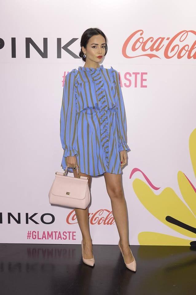 Diletta Amenta at PINKO and Coca-Cola light #GlamTaste event