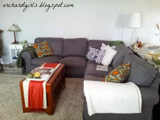 Ikea Ektorp Sectional in Gray | DIY PROJECT IDEAS