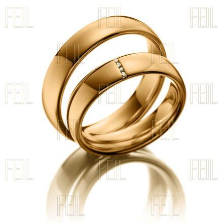 Vörös arany karikagyűrű WVAu-47