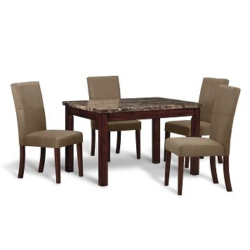Cornerstone dining room 5 pc dinette value city furniture 449 95