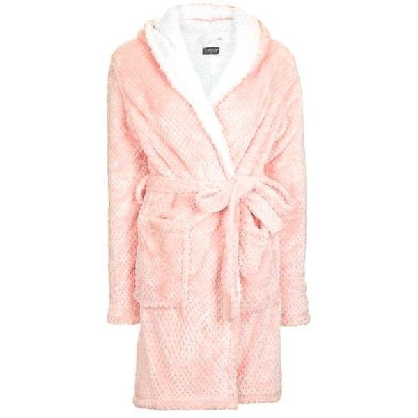Topshop Teddy Robe 48 Liked On Polyvore Featuring Intimates Robes Bath Robespjspajamasloungewearchristmas