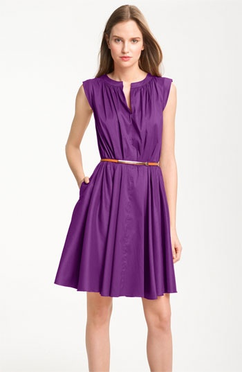 Suzi Chin for Maggy Boutique Pleated Dress. Nordstroms  #WestfieldStyle