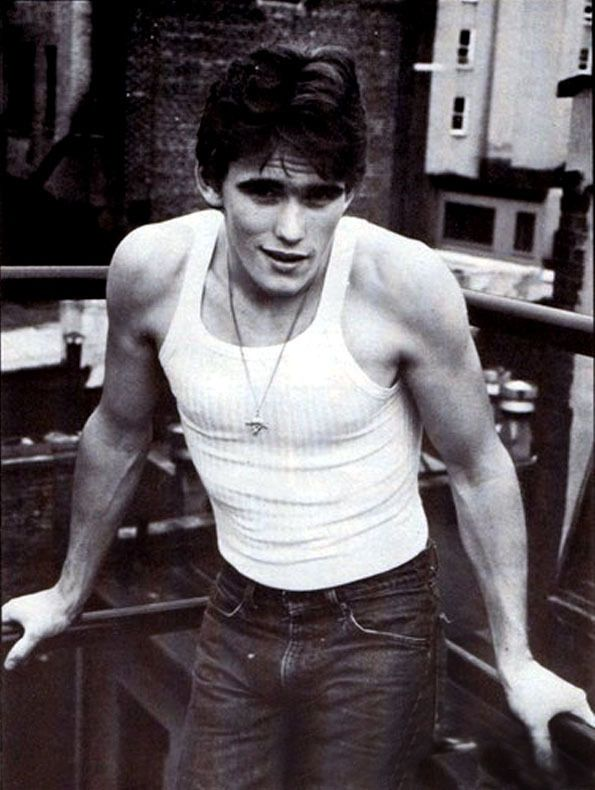 "Matt Dillon in ""The Outsiders"""