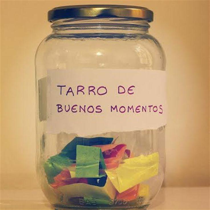 """Fotoidea """"Tarro de buenos momentos"""" enviada por Laura Rivas. Comparta sus fotoideas en: https://apps.facebook.com/414437558614658/"""