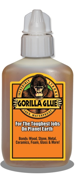 Did you know? Gorilla Glue comes with an anti-clog cap. Check it out!