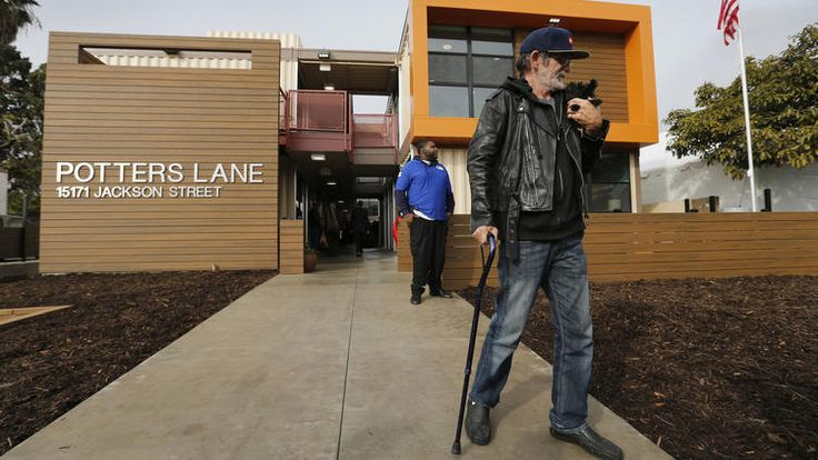 O.C. project that turns shipping containers into homeless housing is dedicated