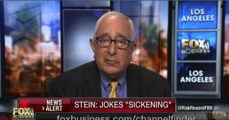 Ben Stein Rips the Unfair Media Coverage of President Trump