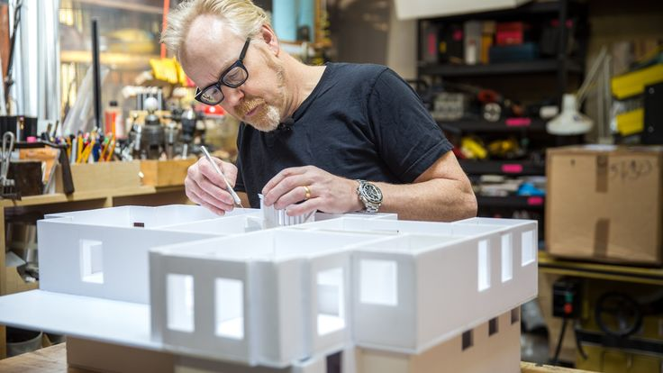 Adam Savage's One Day Builds: Foamcore House!