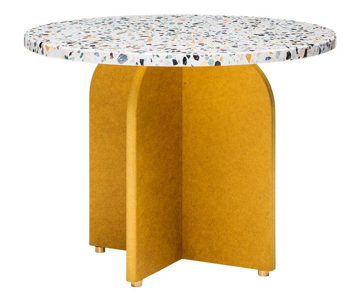 Terrazzo coffee table Confetti by swedish design studio Fish and Pink