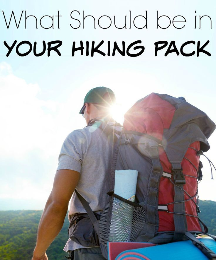 What Should be in Your Hiking Pack - Roadschooling with The Frugal Navy Wife