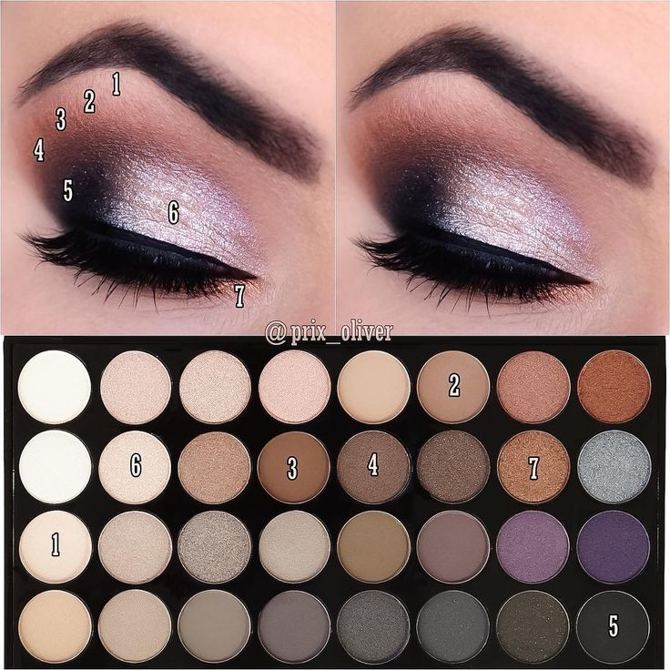 """7,090 Likes, 29 Comments - Makeup Revolution (@makeuprevolution) on Instagram: """"Gorgeous step by step guide by @prix_oliver using our Affirmation eyeshadow palette """""""