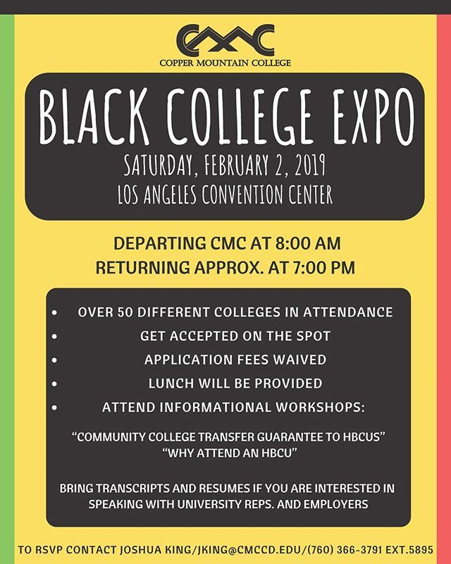 Explore Your Options Take A Trip With Us To Blackcollegeexpo