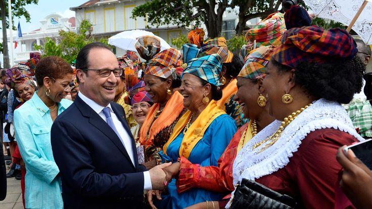 If you wonder who else wears #tartan #madras #plaid , visit #Pointe a #Pitre #Guadeloupe #islands #womens #fashion