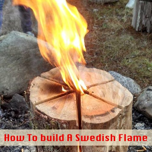 Fire Making: Building A Swedish Flame...http://homestead-and-survival.com/fire-making-building-a-swedish-flame/