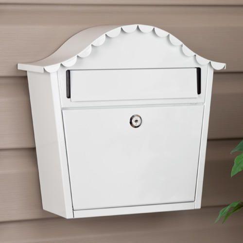 hamlet locking wallmount mailbox