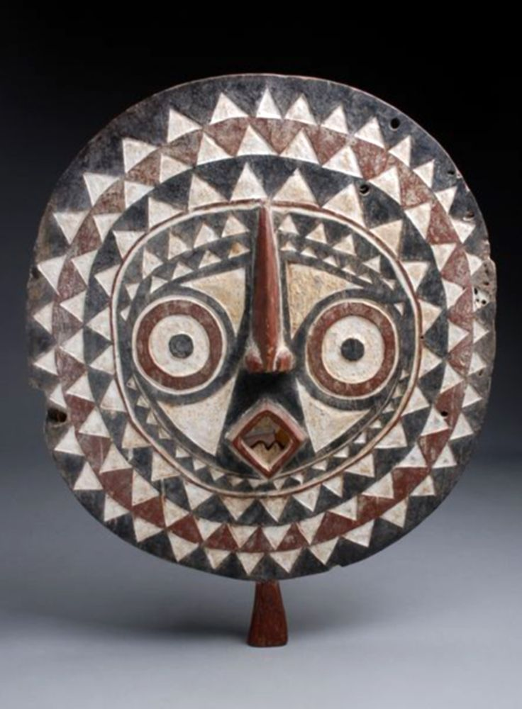 Africa | Bobo Bwa mask from south western Burkina Faso | Wood, polychrome paint