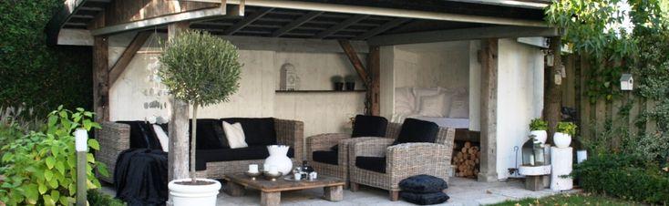 mooie inrichting voor overkapping overkappingen pinterest. Black Bedroom Furniture Sets. Home Design Ideas