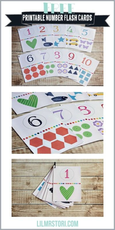 Free Printable Number Flashcards With Dots - 8 best images of number ...