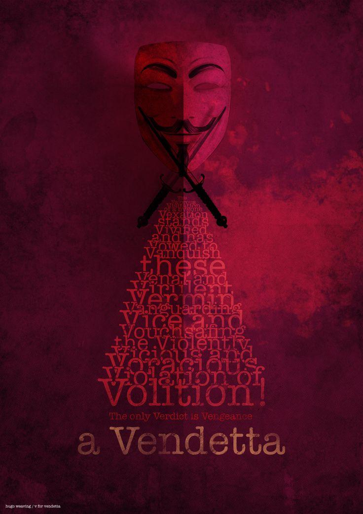 V for Vendetta // Hail Hugo Weaving.