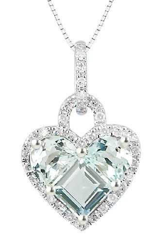 Best 2190 perfect pendants capri jewelers arizona images on white gold half moon and princess aquamarine heart aloadofball Gallery