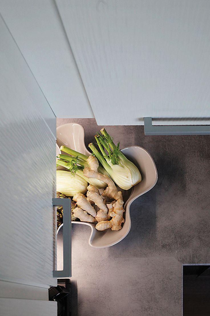 Keittiö, joka kestää aikaa - Ajaton.  Ovet: Simple, loistava puhdas valkoinen…