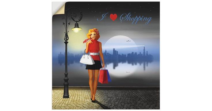Premium-Wandfolie »Mausopardia: Ich liebe das Einkaufen«   – Products