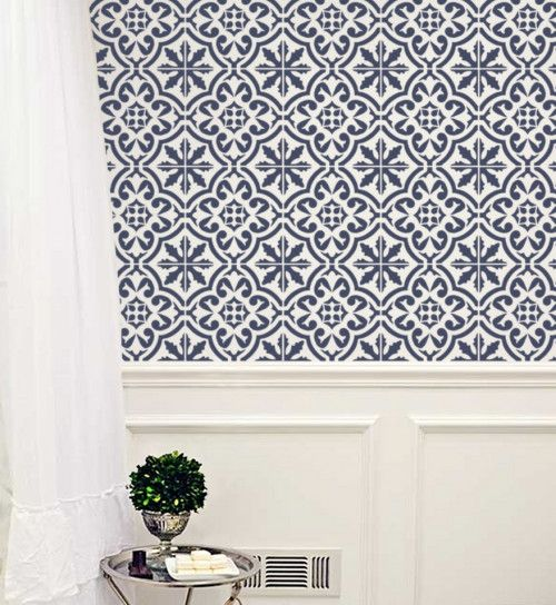 Decorative Wall Stencils best 25+ wall stencil patterns ideas on pinterest | wall
