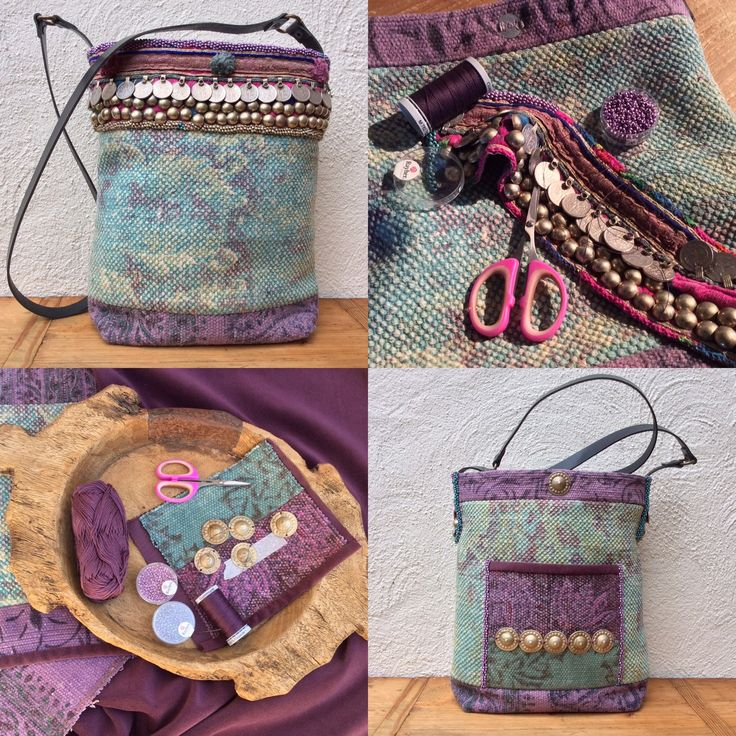Just finished this bag..... A new listing in my Etsy shop!