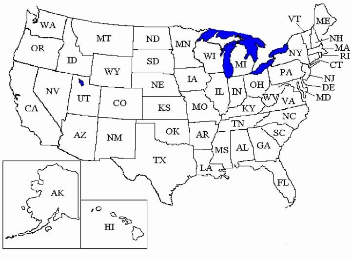 United States Map Coloring Page Fresh Coloring Pages United States