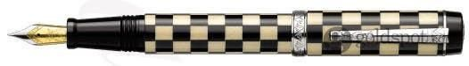 Laban Checkered Flag - Fountain Pen - Black Weave - Medium Point