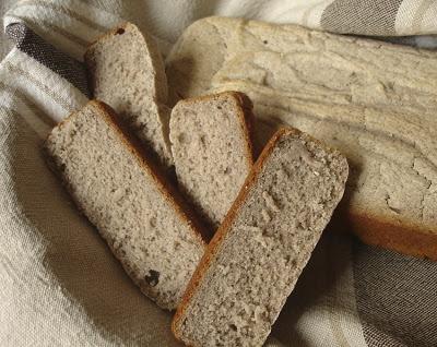 Pan de trigo sarraceno, fácilísimo de hacer y ¡sin gluten!