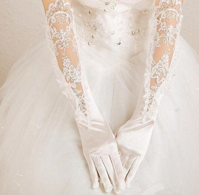 ウエディンググローブ手袋レディース指あり白/ブライダルグローブ/結婚式フォーマル/グローブドレス/サテン/ウエディング小物/ウエディングドレス/結婚式/二次会/パーティー