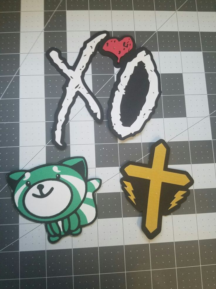 custom the weeknd paper cake toppers.