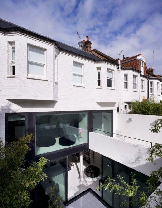 220 besten BEST OF EXTENSION Bilder auf Pinterest Fassaden - haus renovierung altbau london wird vier reihenhauser verwandelt