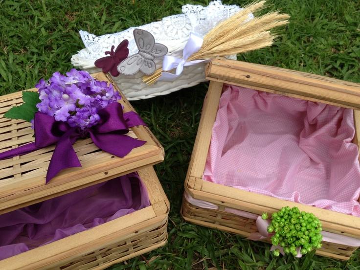 Dia das Mães com cestas cheias de carinho. Happy Mother's day!!!