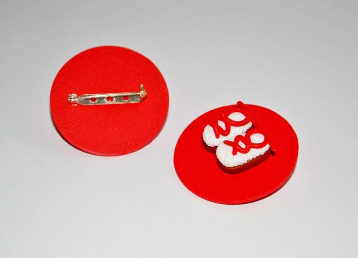 Broche personalizado alpargatas fiestas. Entra en http://www.idea.decoraconideas.com/ y pide tu propio broche.