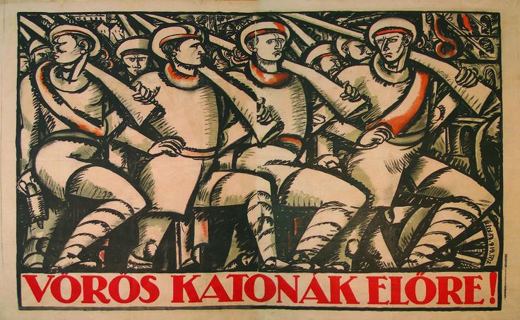 Uitz litográfiája a magyar plakátművészet, sőt talán túlzás nélkül állítható, hogy a magyar művészettörténet egyik emblematikus alkotásának számít. Külön érdekessége, hogy egyszerre tekinthető a magyar avantgarde két óriása, Uitz Béla (kép) és Bortnyik Sándor (szöveg) művének.