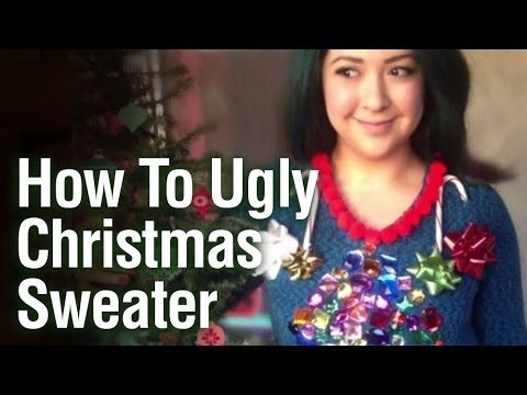 How To DIY Ugly Christmas Sweater