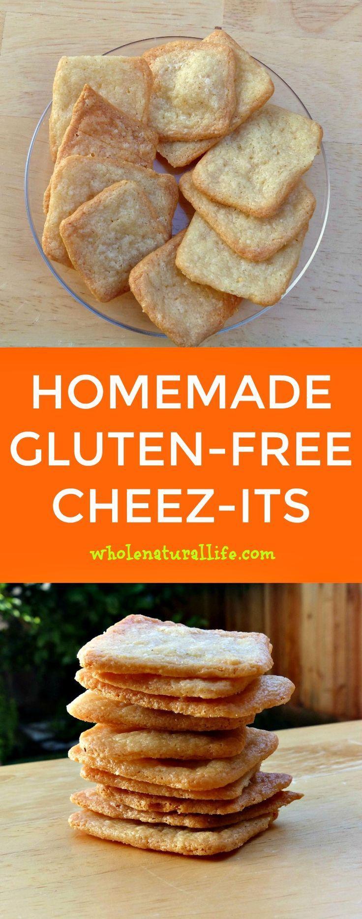 Gluten-free cheez-its | Homemade cheez-its | Gluten-free cheese crackers | Healthy cheese crackers