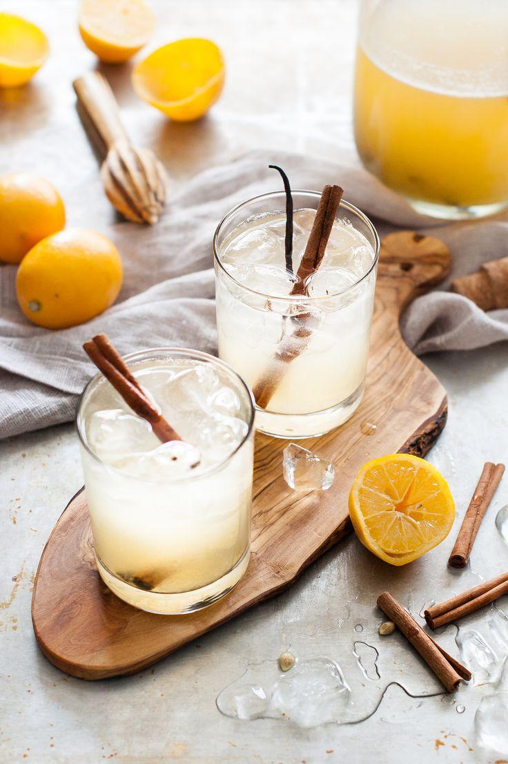 WINTER LEMONADE: Meyer Lemon Vanilla Spice - The Kitchen McCabe
