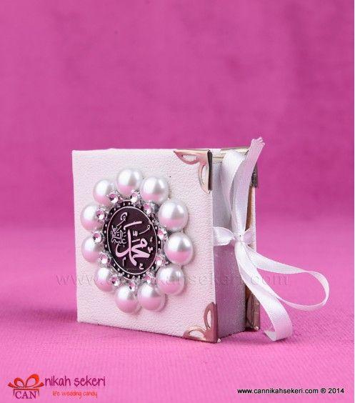 Ayetli Kitap Kutu Nikah Şekeri KT21 #candy #wedding #gift