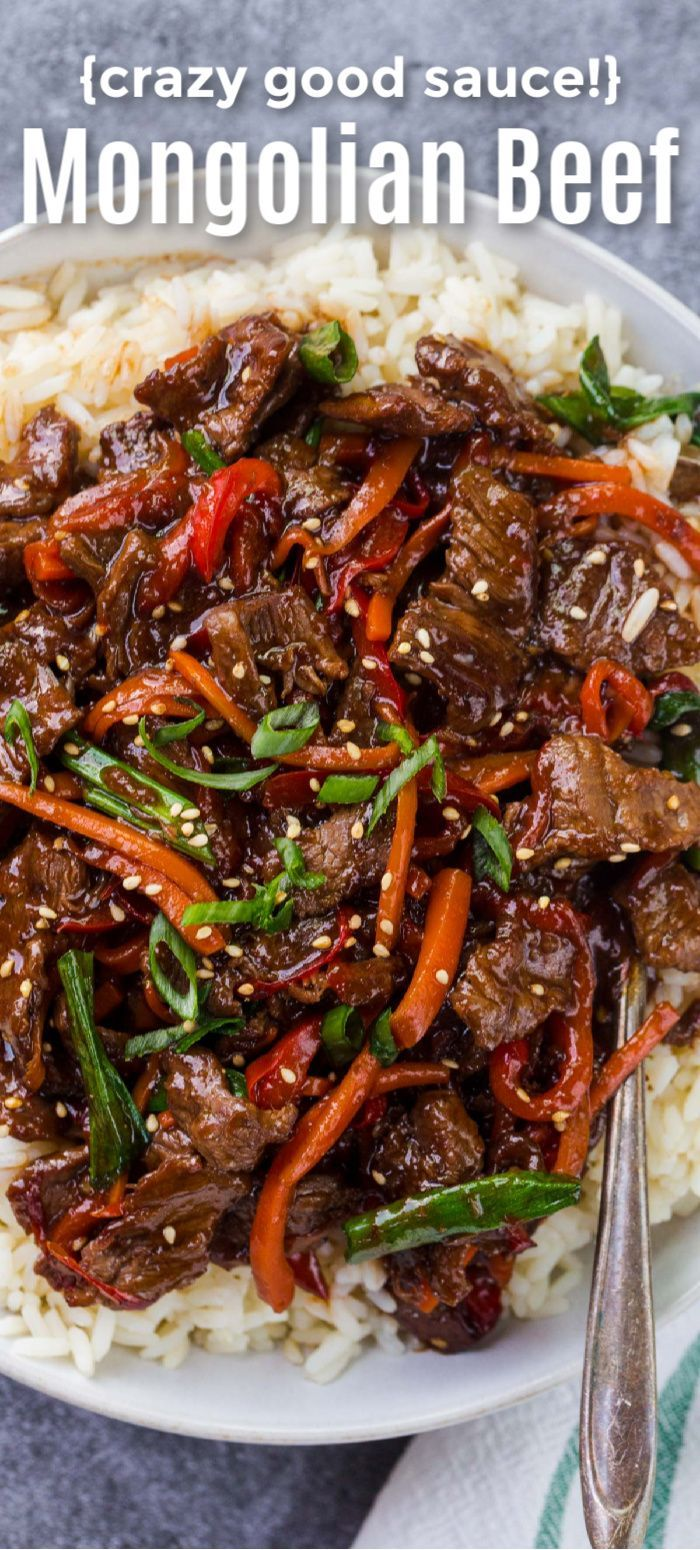Mongolian Beef Recipe With The Best Sauce Beef Recipes Easy Easy Asian Recipes Takeout Food