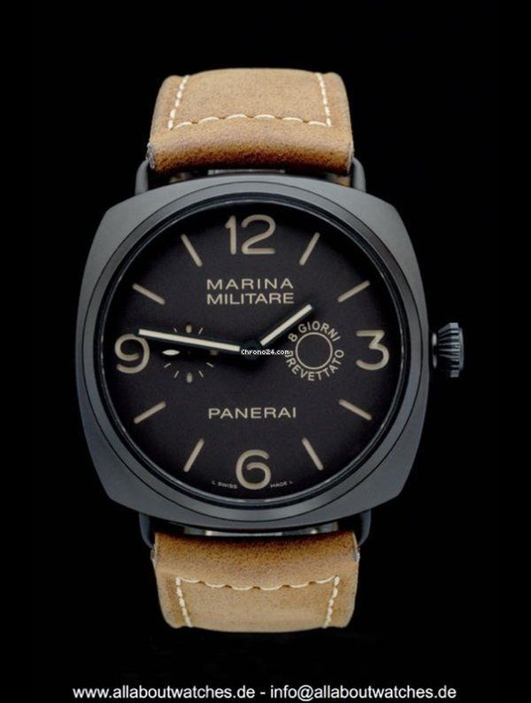 Panerai Special Editions ad: $10,721 Panerai Marina Composite Militare 8 Days PAM00339/PAM339 -... Ref. No. PAM00339; Ceramic; Manual winding; Condition 0 (unworn); Year 2012; New; With box; Wit