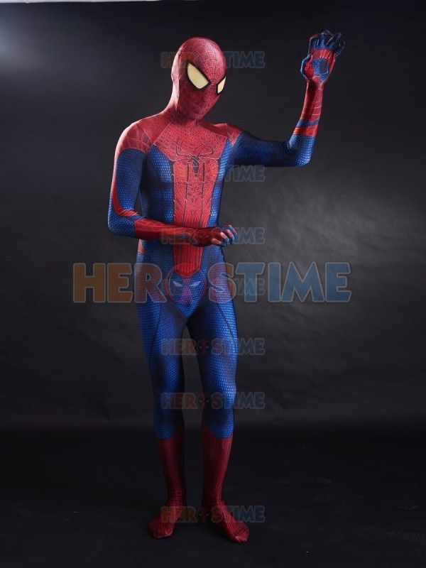 2099 Ultimate Spider-Man Costume Spiderman Muscle Zentai Suit Cosplay Halloween